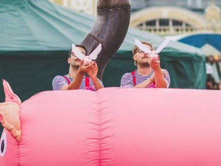 Prasečí cirkus + žonglérská dílna